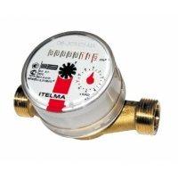 Счетчик горячей воды Itelma WFW20.D110 Ду 15 мм. L 110 мм.