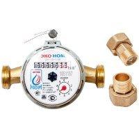 Счетчик воды универсальный ЭКО НОМ-15-110 + КЧМ