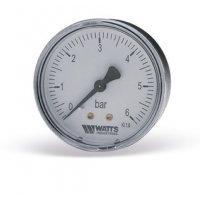 """Манометр аксиальный Watts F+R100 (1/4"""", 10 бар, 50 мм.) 10008093"""