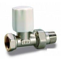 Luxor Tekna RD 01 3/4'' вентиль кран ручной регулирующий прямой линейный для радиатора