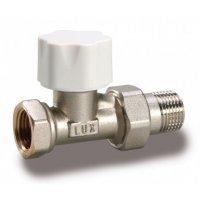 Luxor Thermo Tekna RD 201 1/2'' клапан вентиль термостатический линейный прямой под термоголовку