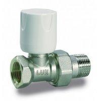 Luxor Easy RD 101 1/2'' вентиль кран ручной регулирующий прямой линейный для радиатора