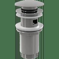 """Донный клапан AlcaPlast A392 click/clack 1 1/4"""", с переливом и большой заглушкой"""