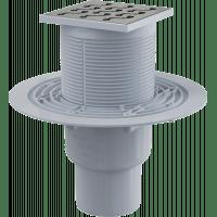 Сливной трап AlcaPlast APV202 (105×105/50/75)