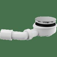 Сифон для душевого поддонa AlcaPlast A491CR, хром