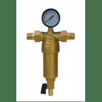 """Фильтр с манометром 1/2"""" Millennium Mill.FTSC. 12.H для горячей воды"""
