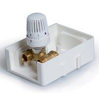 Регулировочный короб с термостатическим клапаном TIM TCB-K01