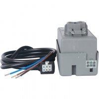 """Двухходовой зональный клапан, сервопривод 230V, с 3-х жильным кабелем 1м., НР 3/4"""" Stout SVM-0070-200020"""