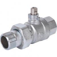 Шаровой двухходовой зональный клапан НВ 3/4x3/4 Stout SVM-0072-200025