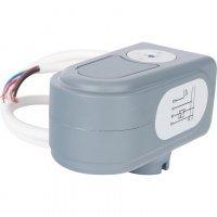 Сервопривод для шаровых зональных клапанов, ход 90°, кабель 1м., 40 сек., 230V, 4 полюса Stout SVM-0071-230004