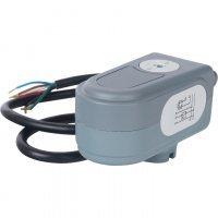 Сервопривод для шаровых зональных клапанов, ход 90°, кабель 1м., 40 сек., 230V, 5 полюсов Stout SVM-0071-230005