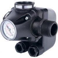 Реле давления для водоснабжения со встроенным манометром PM5-3W 1-5 бар Stout SCS-0001-000053