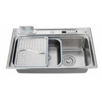 Кухонная мойка нержавейка Kaiser KSM-7848 сталь