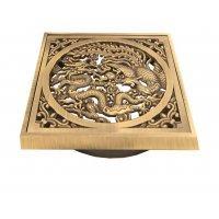 """Решетка для трапа """"Дракон"""" Bronze de Luxe 21986 bronze"""