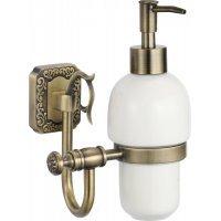 Дозатор для жидкого мыла с настенным держателем Savol S-006431