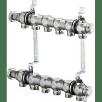 """Коллектор Oventrop Multidis SH 1"""" арт. 1407056 (6 контуров) для радиаторного отопления"""