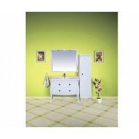 Комплект мебели 100 см, белая, Misty Valencia 100 Л-Вал01100-0112Я-K