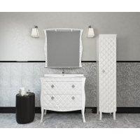 Комплект мебели 100 см, белая, Misty Charme 100 Л-Чар01100-0112Я-K