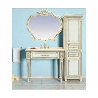 Комплект мебели 100 см, белая сусальное золото, Misty Tiffany 100 Л-Тиф01100-391-K