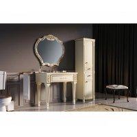 Комплект мебели 100 см, бежевая сусальное золото, Misty Tiffany 100 Л-Тиф01100-381-K