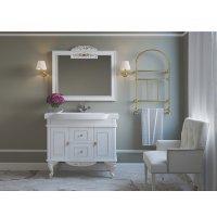 Комплект мебели 100 см, белая сусальное золото, Misty Рафаэль 100 Л-Раф01100-3912Я-K