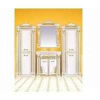 Комплект мебели 100 см, бежевая патина, Misty Барокко 100 Л-Бар01100-033Пр-K