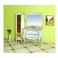 Комплект мебели 100 см, бежевая с узором, Misty Анжелика 100 Л-Анж01100-5412Я-K