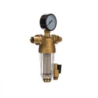 """Фильтр с манометром 1/2"""" для холодной воды JC152 ViEiR"""