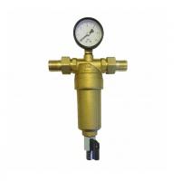 """Фильтр с манометром 1"""" для горячей воды JH155 ViEiR"""