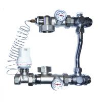 Насосно-смесительный узел для теплого пола VR206 ViEiR