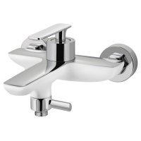 Смеситель для ванны Adiante Atria AD-28022 WH+CR Хром / Белый