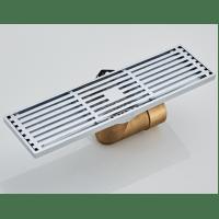 Душевой трап с обратным клапаном угловой 8x30 Hansen H6803