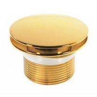 Выпуск для ванны Kaiser - 8004B (автомат, латунь, цвет золотой)